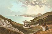 Ansicht von Jersey - Normannischen Inseln - Bouley Bay
