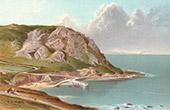 Ansicht von Jersey - Normannischen Inseln - Bon Nuit Bay