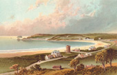 View of Jersey - Channel Islands - St Bredale's Bay