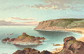 View of Jersey - Channel Islands - Portelet Bay