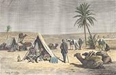 Kampieren in der W�ste in der n�he von Tozeur (Tunesien)