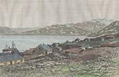 Ansicht von Ivittuut - Gr�nland (D�nemark)