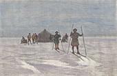 Lappen - Ski - Schi - Gr�nl�ndische Eisschild - Gr�nl�ndisches Inlandeis (D�nemark)