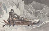 Greely Polar Expedition - Rice's Death - Lady Franklin Bay - Qikiqtaaluk - Nunavut - Nares Strait - Ellesmere Island (Canada)