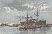 Eskimo in Julianehåb - Qaqortoq - Grönland (Dänemark)