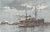 Eskimos at Julianehåb - Qaqortoq - Greenland (Denmark)