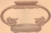Japanische Kunst - Liturgisches M�bel - Altar - Skulptiertes Holz