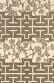 Japansk konst - Dekoration - Vegetabilisk - Plommon - 18. Århundrade