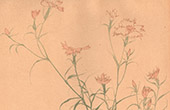 Japanese art - Decoration - Carnations (Boumpo)