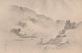 Paysage - Brouillard - 18�me Si�cle (Kuan Yei)