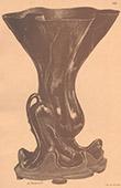 Japansk konst - Brons vas  - 17. Århundrade - Indisk lotus
