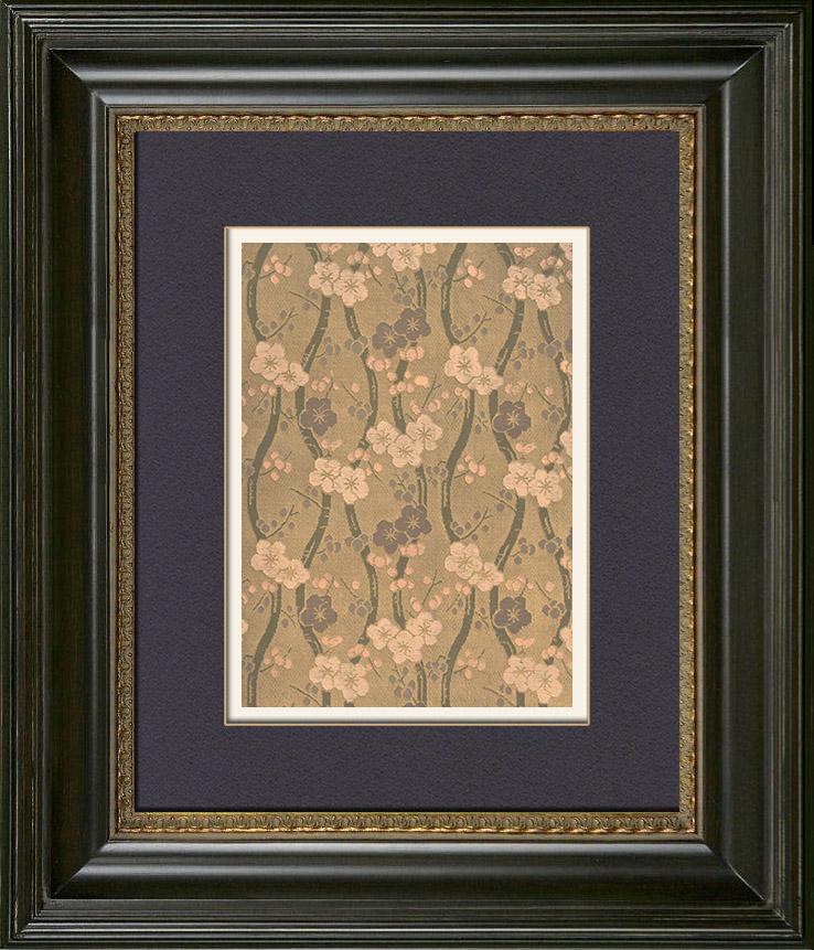 Gravures anciennes art japonais d coration d 39 toffe for Decoration 18eme siecle