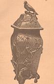 Japansk konst - Terrakotta vas - Ōta - 19. Århundrade