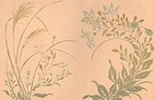 Japansk konst - Dekoration - Lantlig Blommor (Keisai Massayoshi)