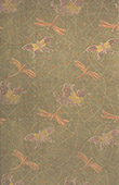 Japanese art - Decoration of cloth - Butterfly - Dragonflies