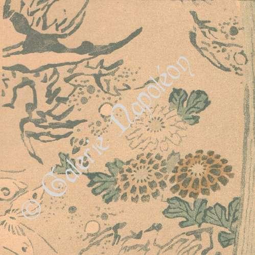 Gravures anciennes art japonais d coration d 39 toffe for Decoration 19eme siecle