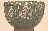 Japanese art - Ceramic vase (Kensan)