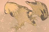 Japanese art - Decoration - Mandarin Duck (Hokusa�)