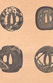 Arte Giapponese - Guardia di sciabole - Ferro battuto