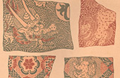 Japansk konst - Dekoration - Lappar av gammalt L�der