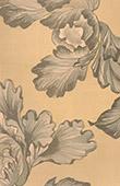 Japansk konst - Teknisk ritning - Blommor - Pioner
