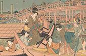 Japanese art - Feast - Soumidagava (Outamaro)