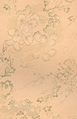 Japanese art - Technical drawings - Flowers - Peonies - Chrysanthemum - Prunus domestica