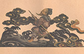 Japansk konst - Ristade Tr� - Polykrom