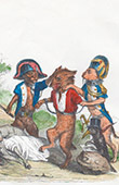 Public and Private Life of Animals - Satirical Tales - Caricature - Gendarmerie - Assassination - Wolf - Dog