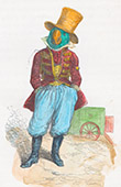 Public and Private Life of Animals - Satirical Tales - Caricature - Parrot - Circus