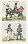 Uniform - French Army - 1834 - Gendarmerie - National Guard
