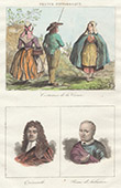 French Regional Costumes - Creuse - Portraits of Quinault (1635-1688) - Pierre d'Aubusson (1423-1503)