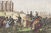 Aufh�ngen von Enguerrand de Marigny an Gibet de Montfaucon (30. April 1315)