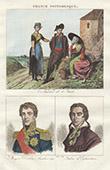 Costumes R�gionaux Fran�ais - Aude - Portraits - Comte d'Andr�ossy (1761-1828) - Fabre d'�glantine (1750-1794)