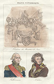 Tomb of Comte de Saxe - Portraits - Kellermann (1770-1835) - Kl�ber (1753-1800)