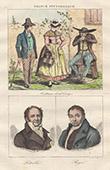 French Regional Costumes - Corrèze - Portraits - Pierre-André Latreille (1762-1833) - Alexis Boyer (1757-1833)