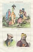 Traditional Costume - Algeria - Portraits - Hussein (626-680) - Hayreddin Barbarossa - Barbarossa Hayreddin Pasha (1478-1546)