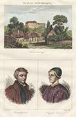 View of Ch�teauneuf-sur-Cher - Central France (Cher - France) - Portraits - Louis Bourdaloue (1632-1704) - Jacques C�ur (1395-1456)