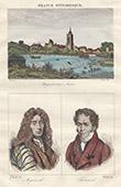 Ansicht von Nogent-sur-Seine (Aube - Frankreich) - Porträten - Pierre Mignard (1612-1695) - Louis Jacques Thénard (1777-1857)