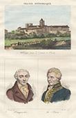 Abbaye aux Dames - Caen (Calvados - France) - Portraits - Vauquelin (1763-1829) - Laplace (1749-1827)