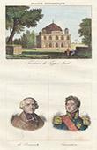 Grave of Tipu Sultan, Mysore's Sultan (India) - Portraits - De Beausset (1725-1790) - Lauriston (1768-1828)