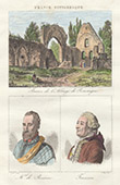 Perseigne Abbey - Ruins (Sarthe - France) - Portraits - Charles de Coss�, Count of Brissac (1505-1563) - Tressan (1705-1783)