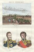 Vue de Mulhouse (Alsace - France) - Portraits - Jean Rapp (1771-1821) - Fran�ois-Joseph Lefebvre (1755-1820)
