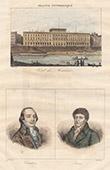 H�tel des Monnaies (Jacques Denis Antoine) - Paris - Portraits - Cambon (1756-1820) - Prieur-Duvernois (1763-1832)