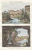 Ansicht von L'Arbresle - Grotte von Estrois - Lyon (Rhone - Frankreich)