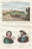 Coll�ge de la Marine - Angoul�me (Charente - France) - Portraits - Honor� de Balzac (1799-1850) - Francis I (1494-1547)