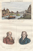 Suspension Bridge at Charleville - Charleville-M�zi�res (Ardennes) - Portraits - Corvisart (1755-1821) - Louis Lef�vre-Gineau (1751-1829)