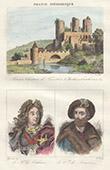 Castle of Bourbon-l�Archambault (Allier) - Portraits - Mar�chal de Villars (1653-1734) - Conn�table de Bourbon (1490-1527)