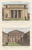 Vue de Paris - Ecole de Médecine - Monument Historique - 18ème Siècle