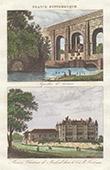 Roman aqueduct at Arcueil - Ch�teau de Madrid - Bois de Boulogne - Francis I - Renaissance - Destroyed (�le-de-France - France)